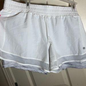 White AVIA shorts